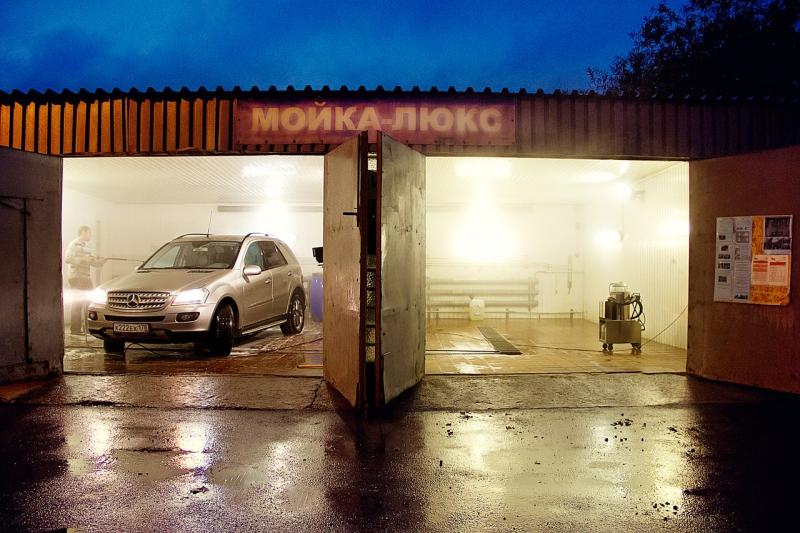 Грузовая и легковая автомойка «Енот»